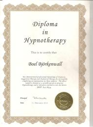 Diplom i Hypnosterapi