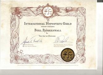 International Hypnotists Guild 001