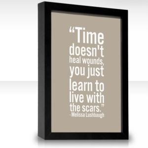 tiden läker inte alla sår
