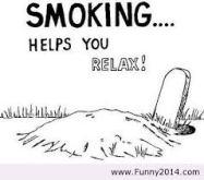 rökning - slappna av