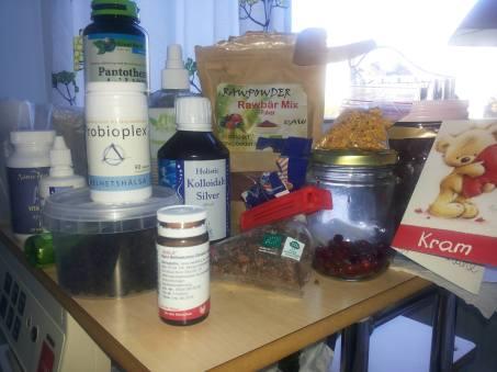 kosttillskott på sjukhuset