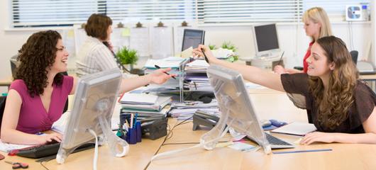 kontorslandskap