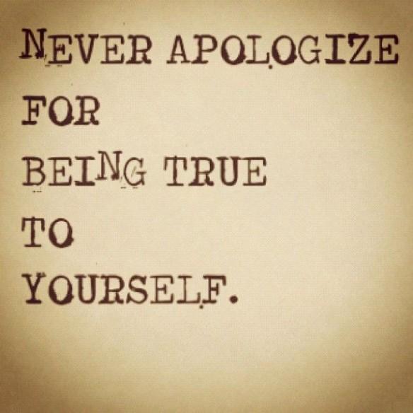 sann mot sig själv